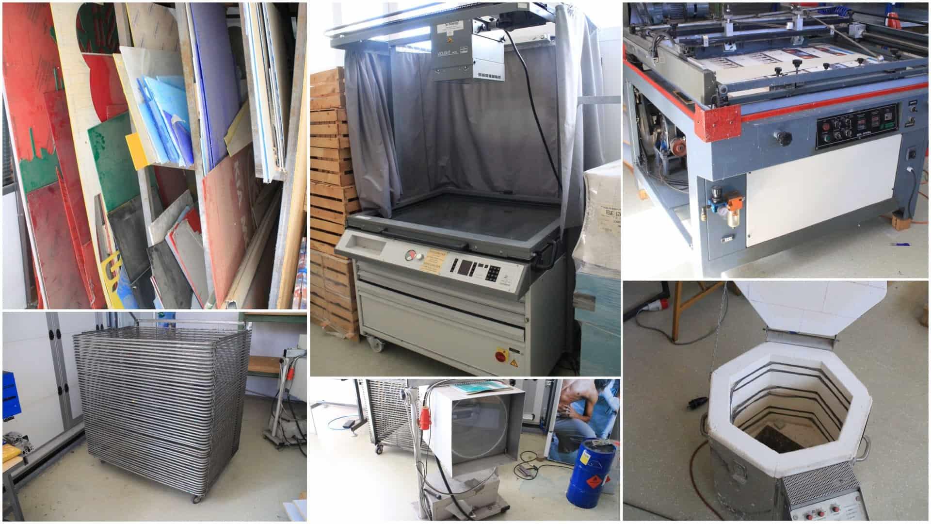 Plexiglas Forex Belichter Siebdruckmaschine Ikea Buromobel