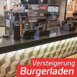 Versteigerung Burgerrestaurant Betriebsschließung