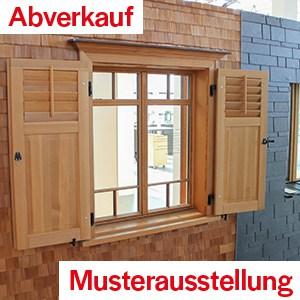 Totalabverkauf Türen & Fenster in Vorarlberg – minus 50 Prozent!