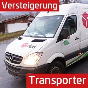 Versteigerung Paketzusteller – 2x Sprinter & 3x Citroen