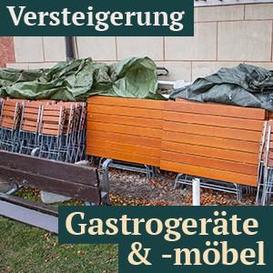 3 x Versteigerung von Gastrogeräte & Möbel in Tirol