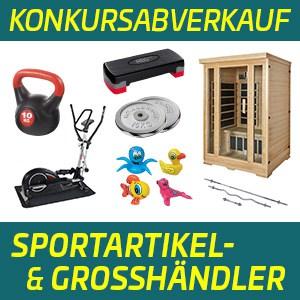 MINUS 50 % – Konkursabverkauf Sportartikel in Salzburg